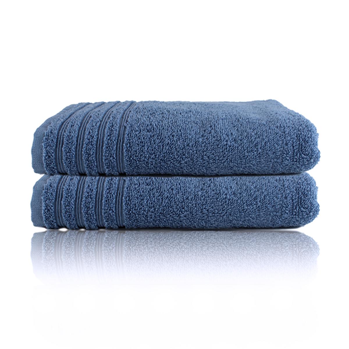 Home Stellebord håndkle 2pk. | Dusty Blue